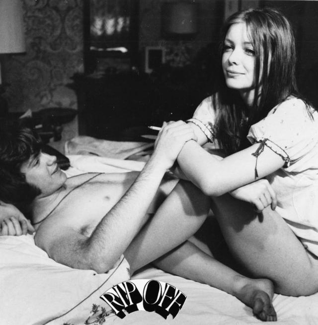 "A not-quite love scene from ""Rip-Off"" (AKA ""Virgin Territory""), 1971"