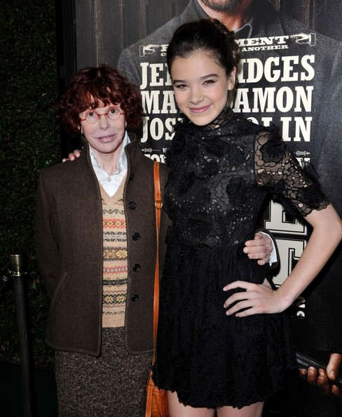 The two Matties: Kim Darby with Hailee Steinfeld, 2010