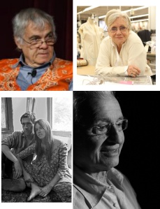 Clockwise from top left: Burtt Harris, Ann Roth, Vic Kemper, Barbara Hershey and David Carradine