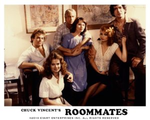 roommates lobby card veronica hart chuck vincent