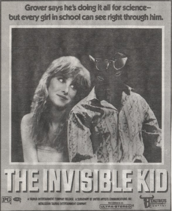 invisible kid ad mat
