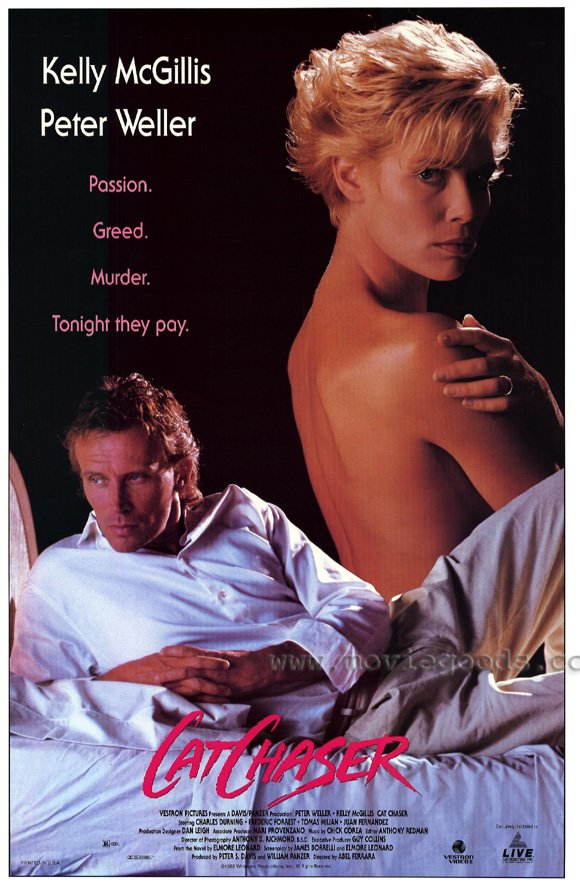 Poster of Vestron's 1991 video release of