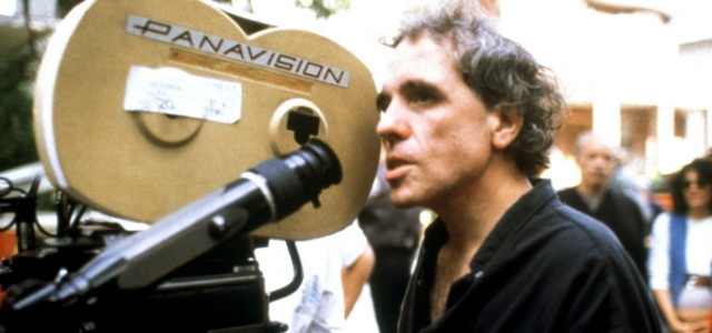 Director Abel Ferrara at work.