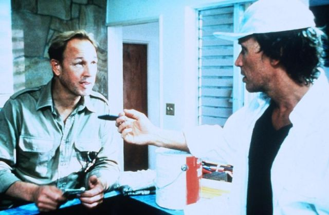 Frederic Forrest, left, as Nolen. Executive producer Josi Konski.