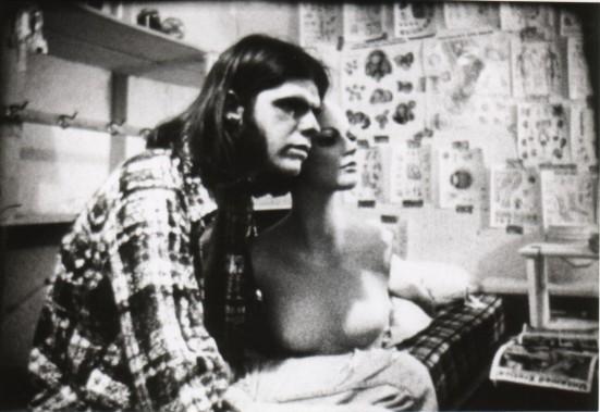 "Man and mannequin, ""Zero,"" 1997."